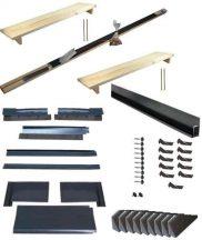 Montažni set za instalaciju u krov 2 KPI1 solarna kolektora