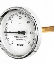 Termometar 0-120°C d=63 regulus