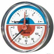 "Termomanometar 0-120°C/4 bara 1/2"""