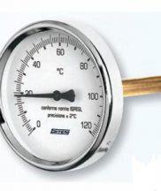 Termometar s kučištem 1/2 140mm duljine 0-120°C REGULUS
